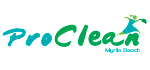 Pro Clean cleaning logo sample