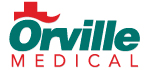 Red and green medical logo sample