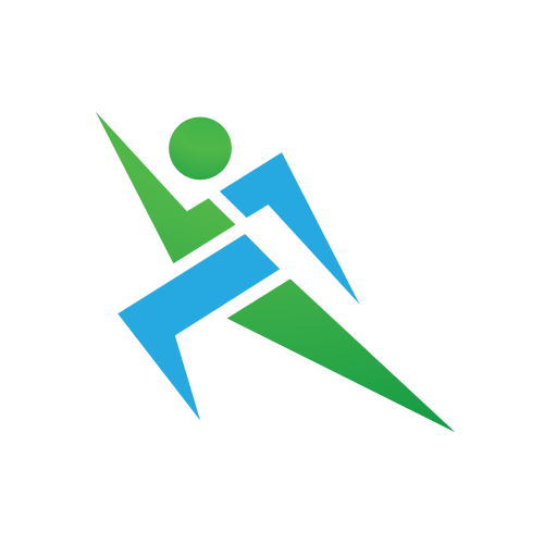 Fast Running Person   Logo