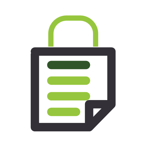 Safe Document Lock Logo