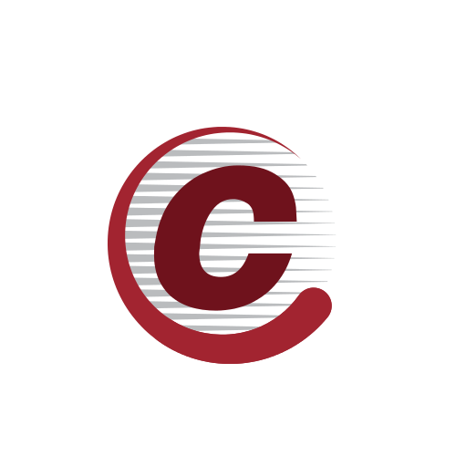 Letter C Stripes  Logo