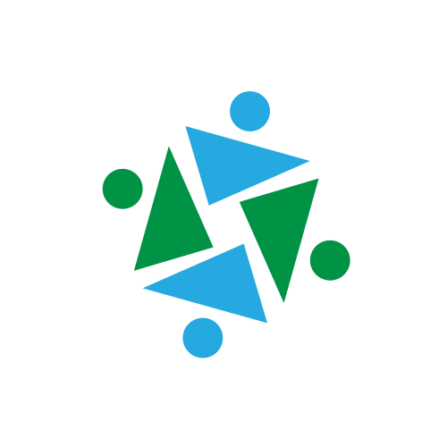 Communications Triangle People  Logo