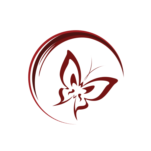 Butterfly Half Circle  Logo