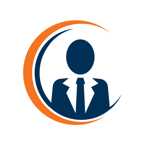 Finance Business Man Logo