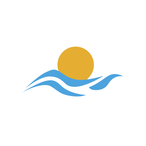 Sunset Wave Travel  Logo