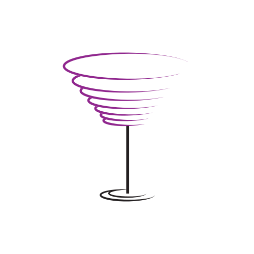 Cocktail Drink Glass  Logo