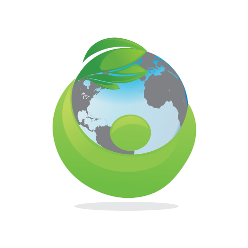 Globe Cleaning Shadow  Logo