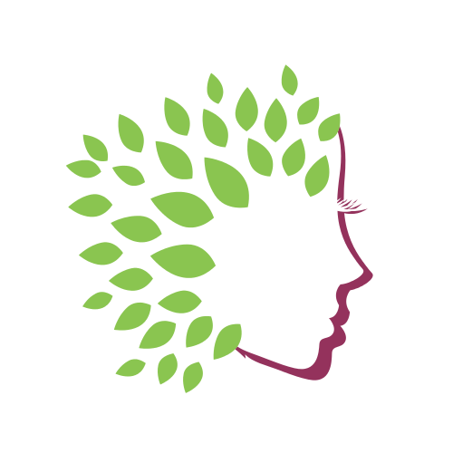 Beautiful Green Face Logo Graphicsprings