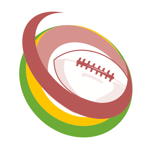 football, circle, gren, yellow, green,
