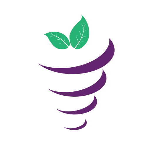 Agriculture Vegetable Purple  Logo