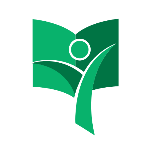 Green Reading Student Logo