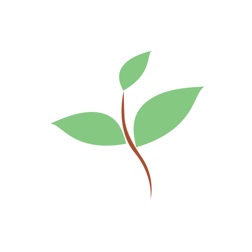 Simple Plant Abstract Logo