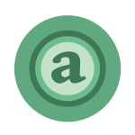 Green Letter A