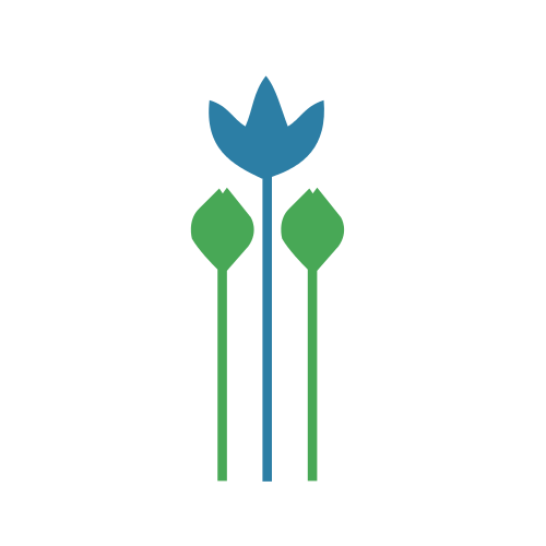 Flower Arrangement Agriculture  Logo