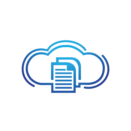 Communications Cloud Storage  Logo