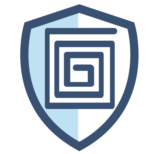 Secure Shield Blue Logo