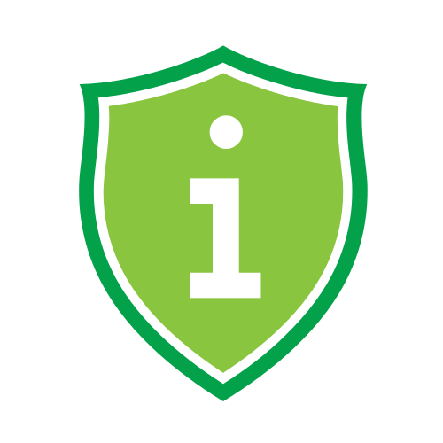 Letter I Shield  Logo