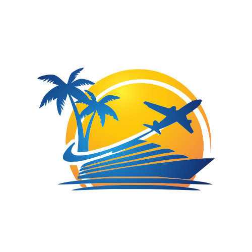 Cruise Plane Travel  Logo