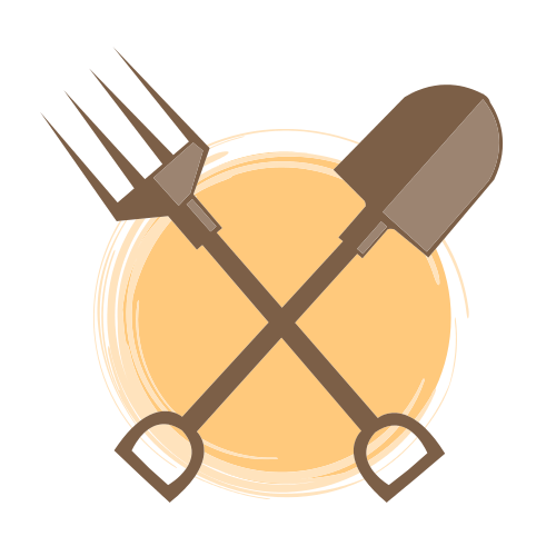 Garden Shovel and Fork