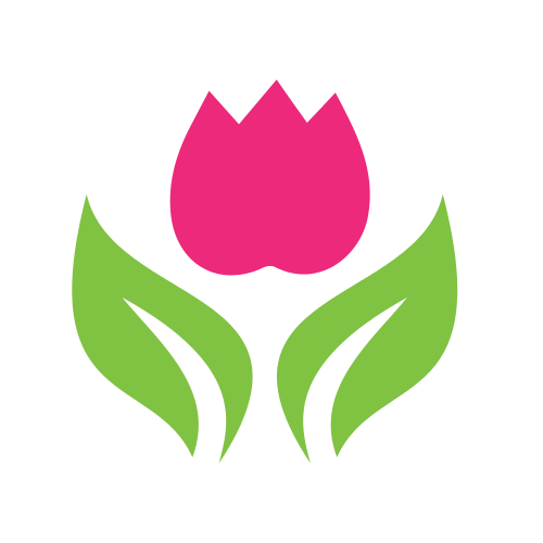 Simple Flower Petals Logo
