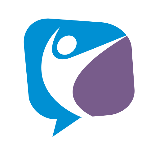 Person Speech Communication Logo