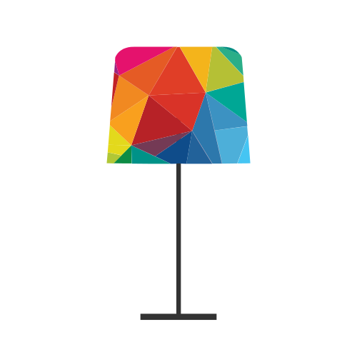 Lamp Home Design Logo