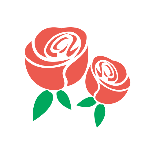 Two Red Roses  Logo