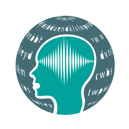 Brain Frequency Globe  Logo