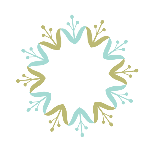 Decorative Floral Circle