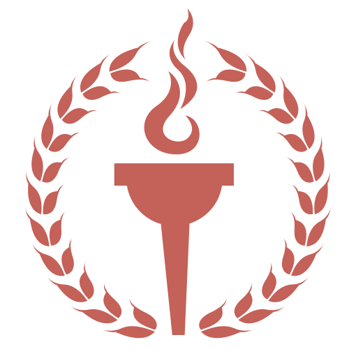 Olympic Fire Laurels  Logo