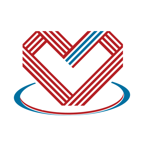 Abstract Heart Dating  Logo