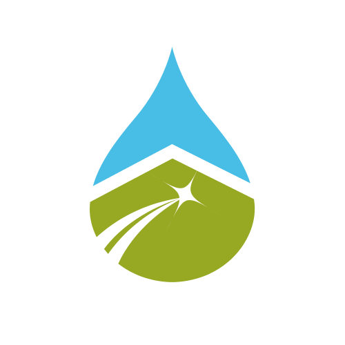 Maintenance Cleaning Drop  Logo