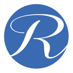 Letter R Circle