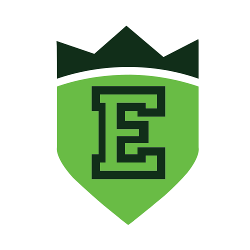 Letter E Crown Logo