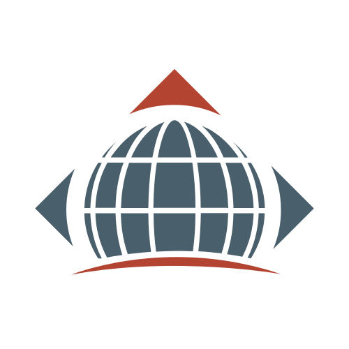 Arrow Justice Globe  Logo