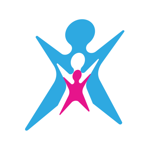 Three Person Figure  Logo
