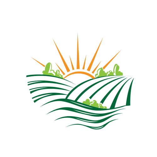Green Fields and Sun Logo