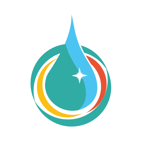 Cleaning Water Drop  Logo