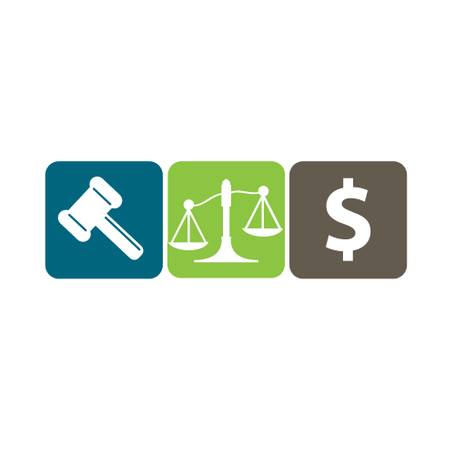 Gavel Scale Money Logo