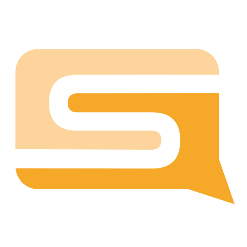 Letter S Bubble Logo