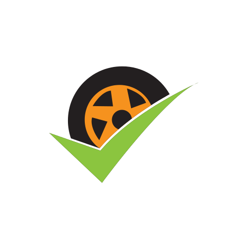 Green Tire Mechanic  Logo