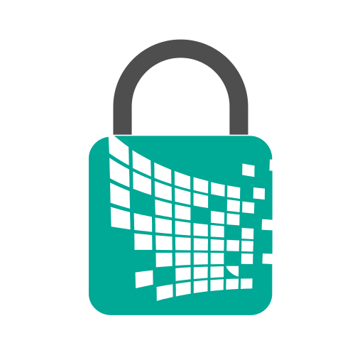 Web Security Lock Logo