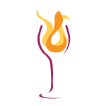 Wine Glass Flame