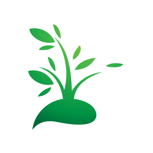 Sprouting Plant Environmental  Logo