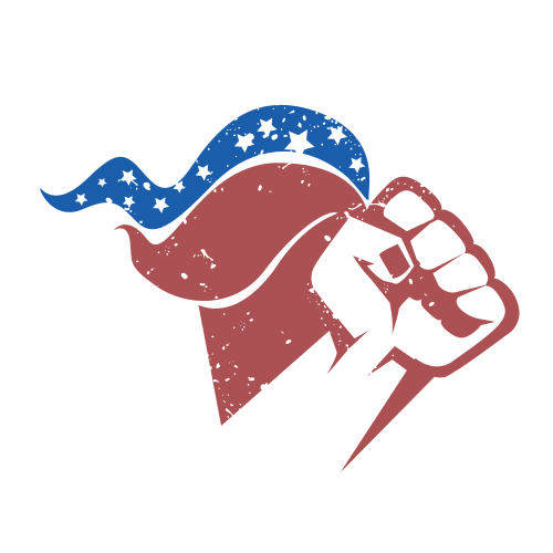 Political Fist Flag