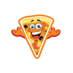 Happy Pizza Slice