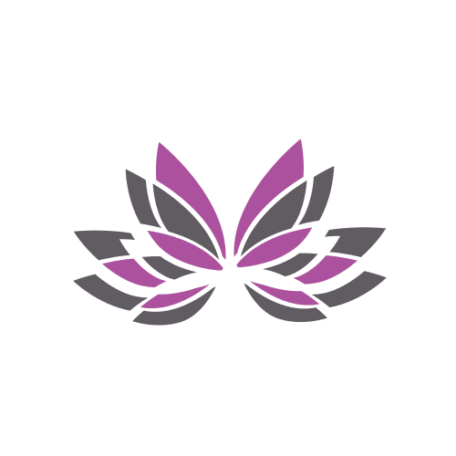 Floral Wings Butterfly  Logo