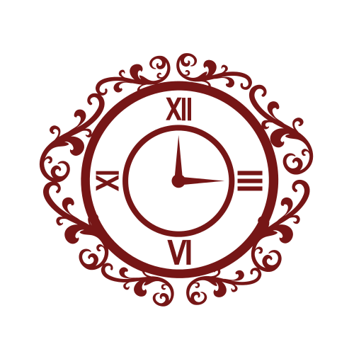 Clock Mirror Furniture  Logo