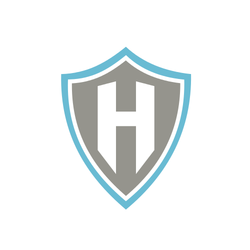 Letter H Shield  Logo