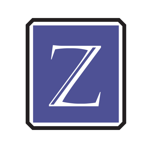 Purple Letter Z Logo
